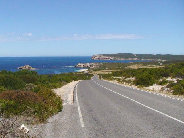 Scenic drive Stenhouse Bay Yorke Peninsula